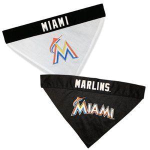 Miami Marlins Reversible Collar Bandana